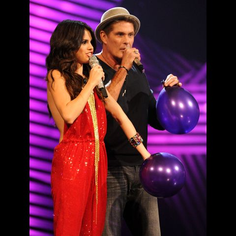 David Hasselhoff & Selena Gomez