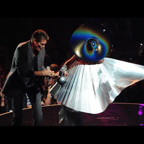 David Hasselhoff & Lady Gaga