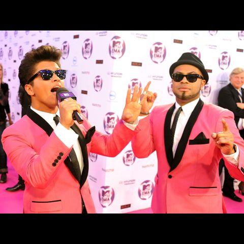 Bruno Mars Členové kapely