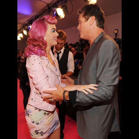 Katy Perry a David Hasselhoff