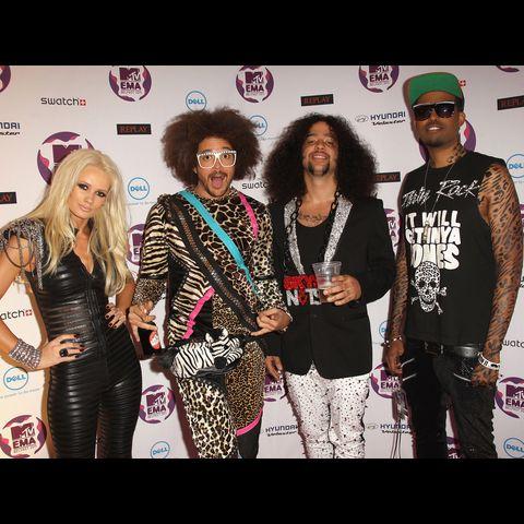 премия MTV EMA LMFAO-Dave-J-Hogan-131652933