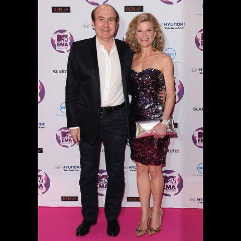 Philippe Dauman a Debbie Dauman
