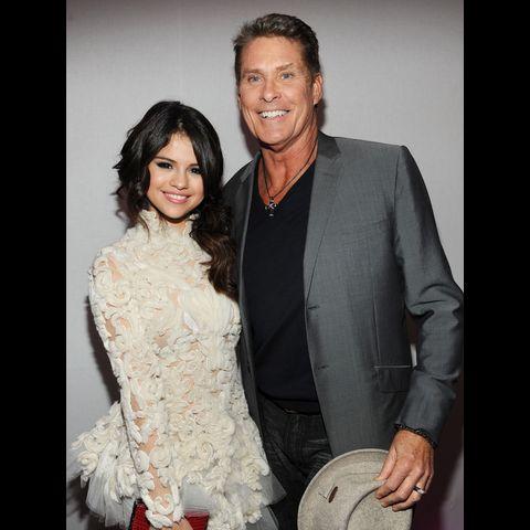 Selena Gomez & David Hasselhoff