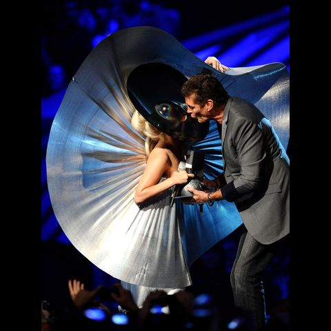 Lady Gaga & David Hasselhoff
