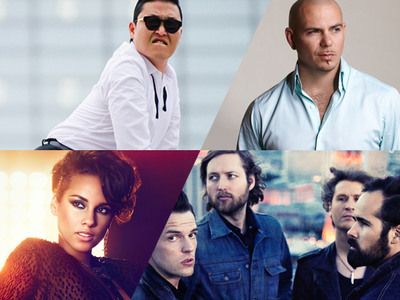 Alicia Keys, Pitbull, The Killers, and Psy Join the EMA Lineup