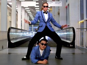 Heidi Dances 'Gangnam Style' With Psy!